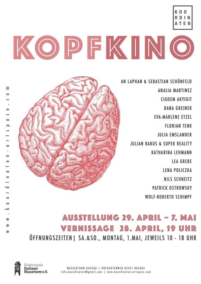 Kopfkino, Apr 28 – May 7 2017